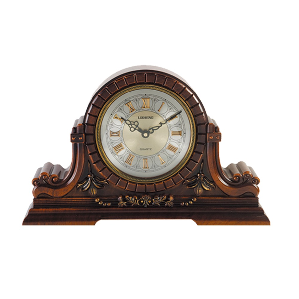 Europe antique mantel table clock fireplace 1333-11