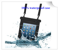 new design waterproof case for ipad 3/4 pvc waterproof bag