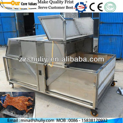 Best quality halal whole lamb/Hot sale electrical / charcoal roast furnace for whole lamb