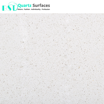 Polyester Resin White Solid Surface Artificial Stone Slab with Big Chips