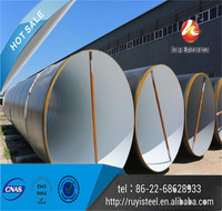 TianJin Ruyi Large OD SSAW Spiral Pipe with PE exterior coating
