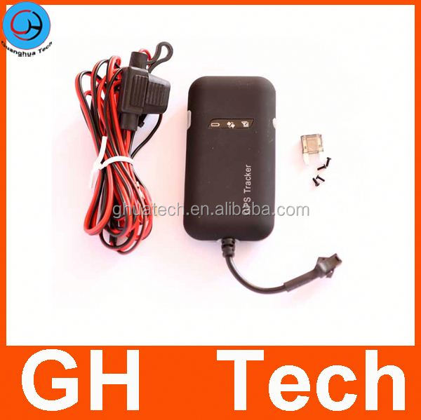 GH Car gps tracking device long battery life G-T002 9-50V voltage no backup battery
