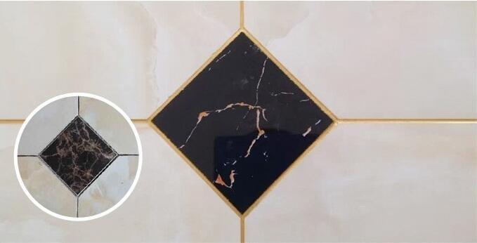 floor tile special caulking agent of genuine gold crystal adhesive