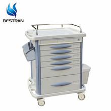 China BT-MY003 cheap hospital used medical trolley cart, medical rolling cart sale