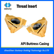 China Made API Carbide Threading Insert/Buttress Threading Inserts with High Quality
