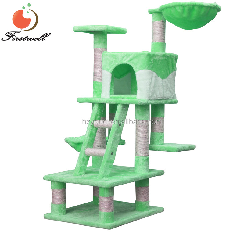 Cat Tree Condo Deluxe Play House Club Multi-level Scratching Post Pet Bed Toy Furniture