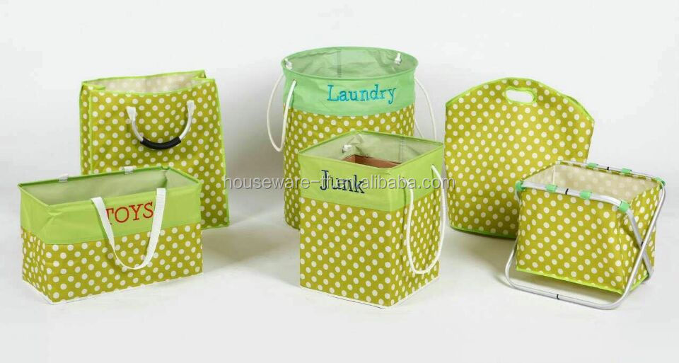 dirty clothes foldable storage cune basket bin