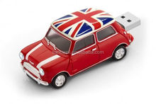 2014 new product wholesale mini cooper key usb flash drive free samples made in china