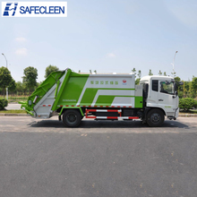 4x2 Small garbage compactor truck for sale