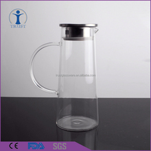 Hot Selling Home Wedding Tableware High Quality Cold Water Glass Pitcher