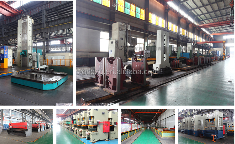 315Ton H Frame double crank press metal stamping press machine for sale