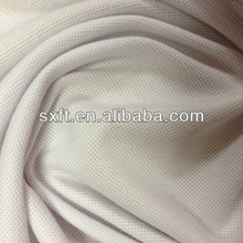 100% polyester knitting spun wicking pk mesh fabric