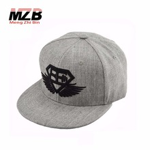 New design brushed cotton embroidery snapback caps men, Gary strapback Hat, Classic Snapback with embroidered logo