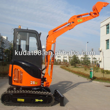 kudat KD28U cheap jcb excavator price,rc excavator,chinese mini excavator parts for sale