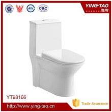 Economical sanitary ware one piece ceramic dual flush toilet for uk