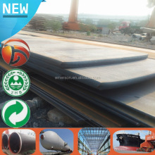 Fast delivery hot rolled p91 alloy steel plate for ship build steel plate