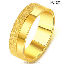 DAICY cheap wholesale simple design wedding band 1 gram gold ring for men