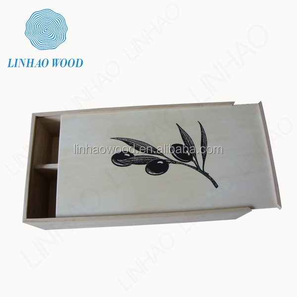 Factory Supply wood box wine, wood liquor box, Wooden Wine Box wholesale