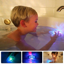 Party tub bath LED light waterproof toys for kids