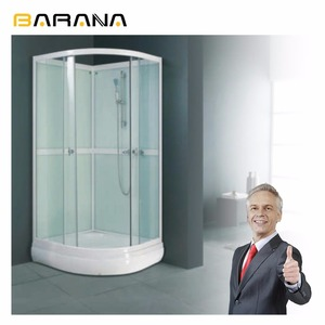 Prefabricated Custom Fiber Rv 6Mm Glass Bathroom Shower Room Price In India Enclosure Furniture Parts
