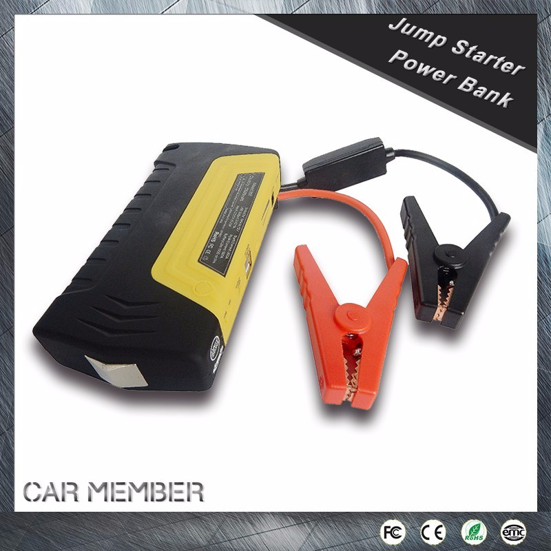 CAR MEMBER new item cheap price multi function handy battery booster 2 in 1 jump start air compressor