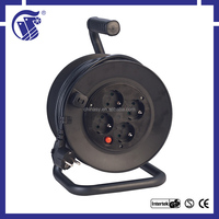 IP20 40m extension Power Cords & Extension Cords small cable reel electric