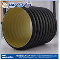 high pressure low weight hdpe corrugated drainage pipe