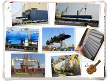 Professional Break Bulk/RORO shipping service from Shanghai/Tianjin to PUERTO CORTES