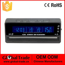 Car Digital Clock In-and-out Door Thermometer. A1299.