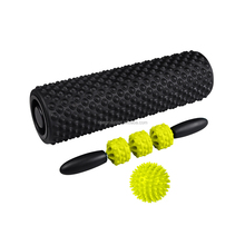 Point Roller Muscle Massage Stick 3 in 1 Foam Roller