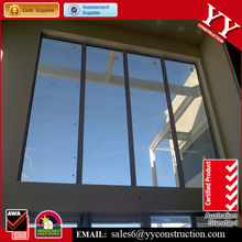 Australian standard aluminium big fixed panel window, AS/NZS2047 AS/NZS2208 & AS/NZS1288