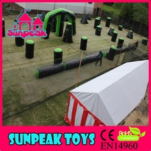 BK-034 Sunpeak Adult Outdoor Play Games Obstacle Inflatable Bunker For Paintball