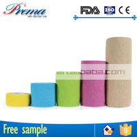 Own Factory Direct Supply Non-woven Elastic Cohesive Bandage 2015 nail art bandage