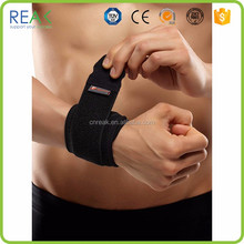 Elastic great quality Gray nylon.neoprene snowboarding wrist support