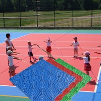 Bottom Price Hot Sale plastic floor mat for volleyball court