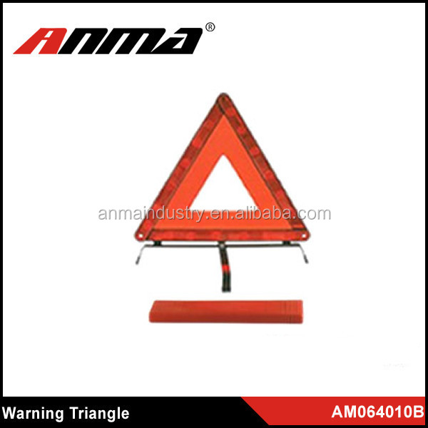 Promotional and Original Red Reflective Car Warning Triangle/ Reflective Triangle for Traffic Warning