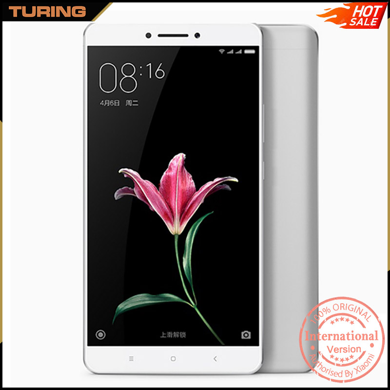 Xiaomi Mi Max Shanghai Market 6.5 Inch Big Touch Screen Mobile Phone 2GB RAM 16GB ROM MIUI 8 Android 6.0 6.44 inch 16MP