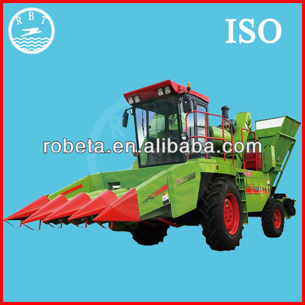 4YZ-3 Self-propelled 3 Rows 115HP Corn combine harvester