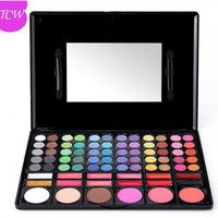 Private label eyeshadow palette 78 color makeup