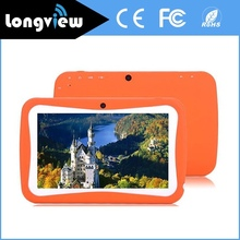 2016 novo design de 7 polegada 1024X600 tela HD tablet barato pc Quad Core Crianças tablet pc