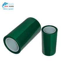 Hot sales!For Powder Coating Heat Resistant PET high temperature Masking silicone adhesive Tape with Release Liner