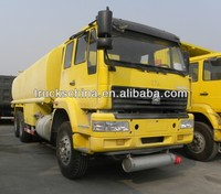 SINOTRUK 6X4 25000L HOWO Water tank truck truck for milk transportation