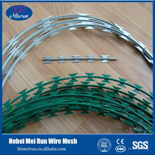 concertina Razor Barbed Wire For Export To Middle East Market/razor blade barbed wire toilet seat