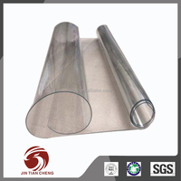 Retaining chilled air thick clear vinyl roll pvc plastic for door curtain