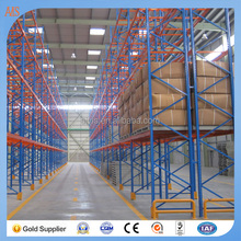 China Double Deep Pallet Racking For Industrial Storage