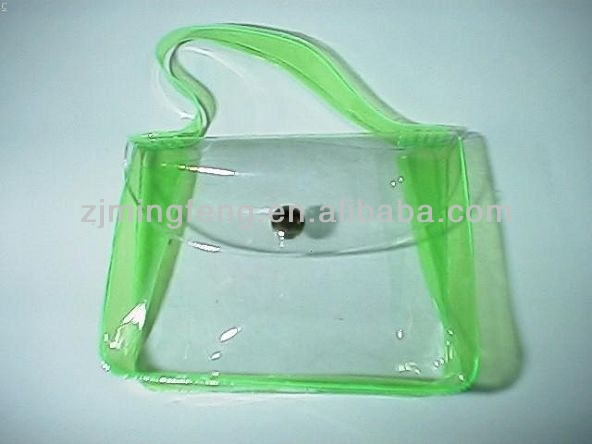custom promotional clear pvc tote bag wholesale