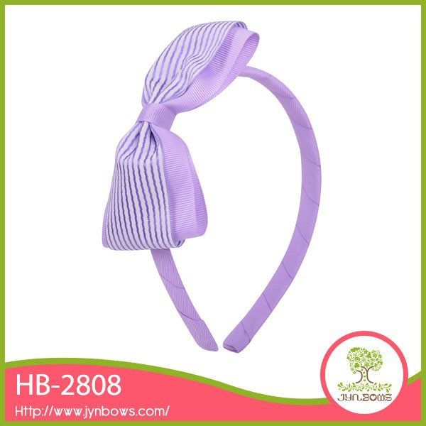 Purple unique lady hair band hair ornament