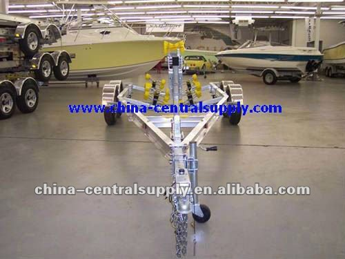 Wholesale Heavy duty high quality Aluminum Boat trailer ACT0105