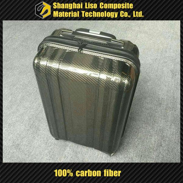 Luggage Bags Cases Carbon Fiber Suitcase