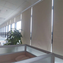 Sunsheet automated roller blind for home office and school